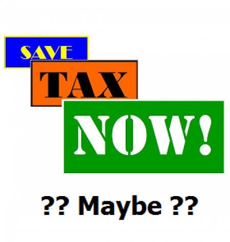 Pay Less Tax … Maybe